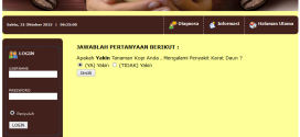 Aplikasi sistem pakar metode Backward Chaining berbasis web