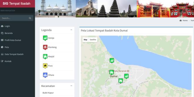 Sistem Informasi Geografis Tempat Ibadah