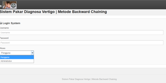 Sistem Pakar Diagnosa Vertigo Metode Backward Chaining