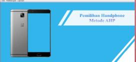 Aplikasi Pemilihan HP Berbasis Java Netbeans