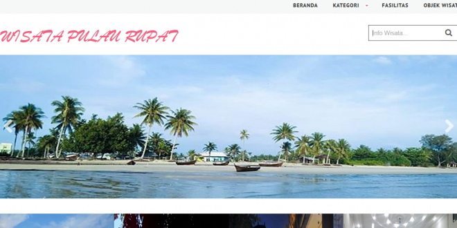 Aplikasi Pariwisata Berbasis Web
