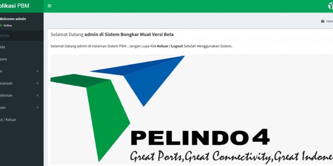 Aplikasi Bongkar Muat Pelabuhan Berbasis Website